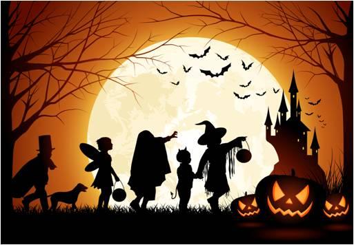 miradas de halloween