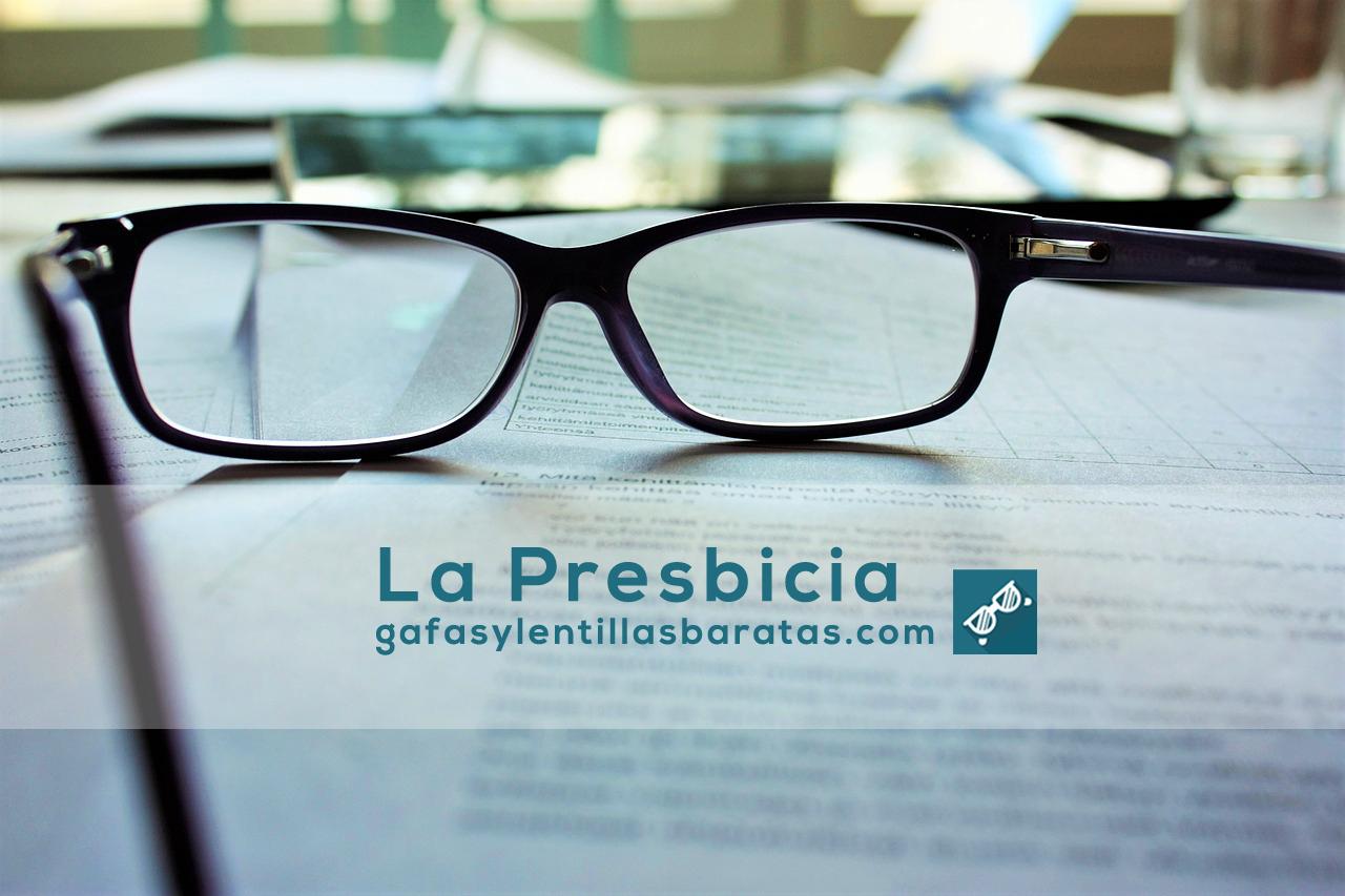 presbicia gafas y lentillas baratas