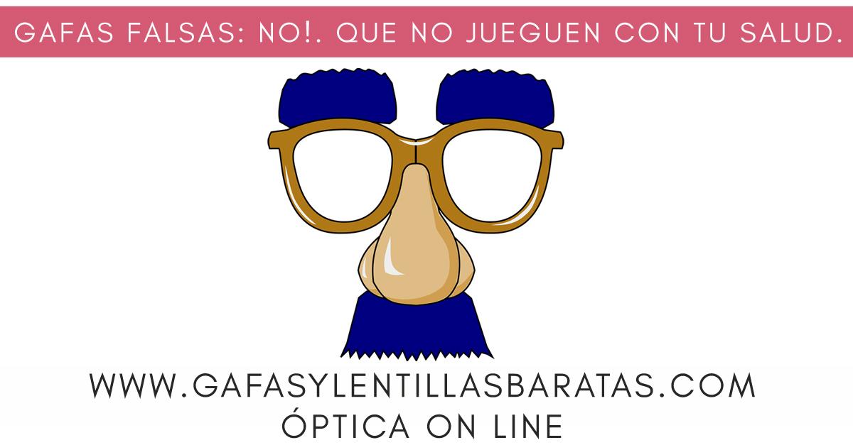 No comprar gafas de sol falsas