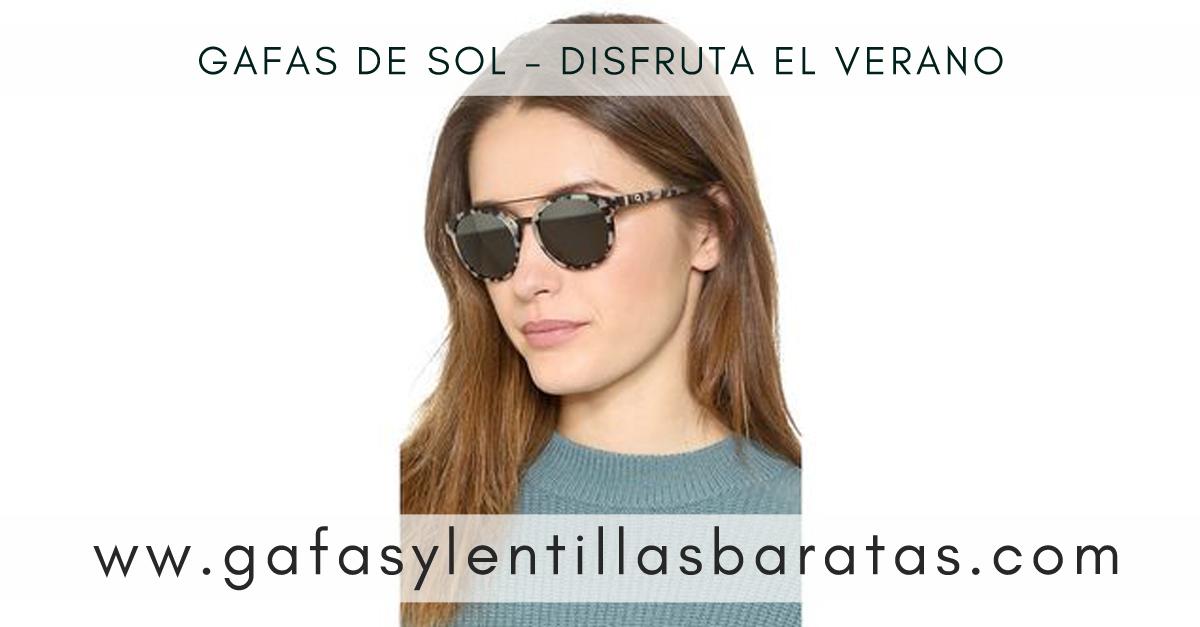 Gafas de sol para el verano a precios de outlet