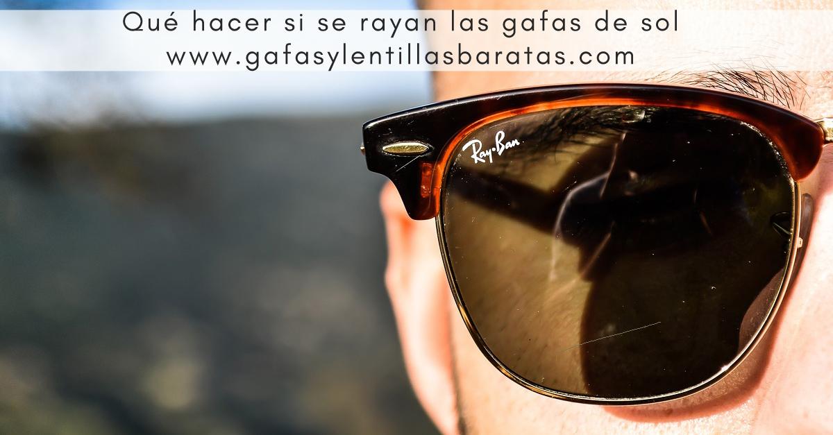 Gafas de sol rayadas